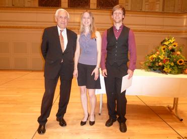 Donator Dr. Ch. Fiechter, A. Kähr, Y. Stucki